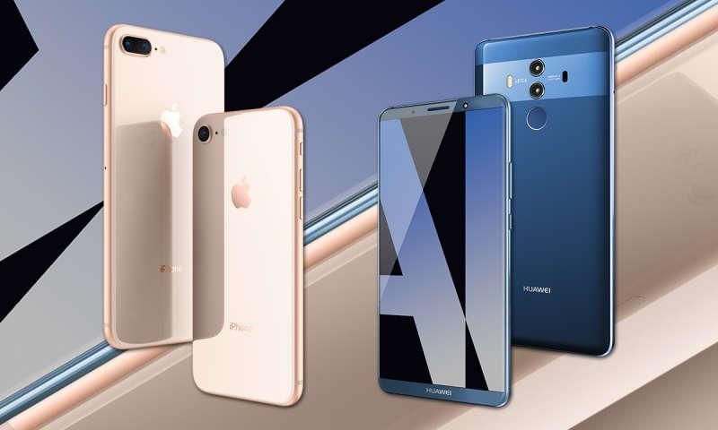 huawei und iphone im vergleich