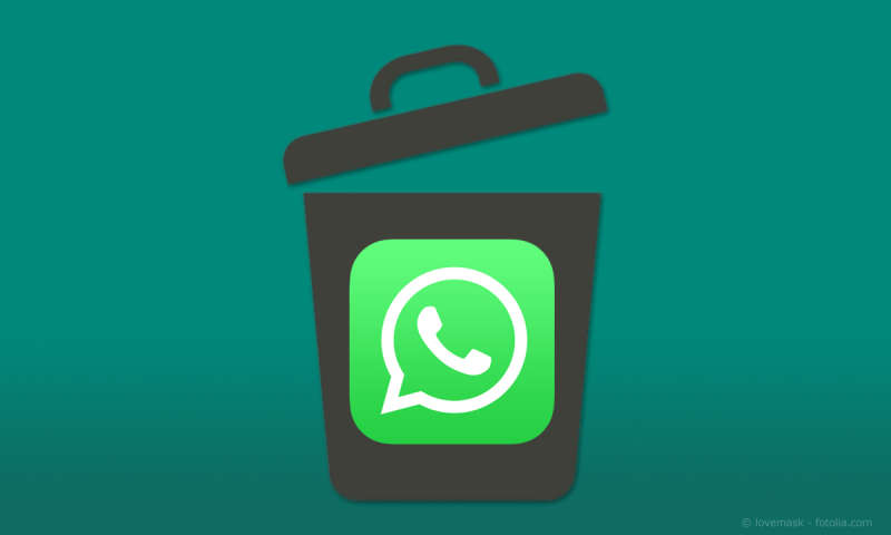 wie löschen ich im iphone in whatsapp alle nachrichten