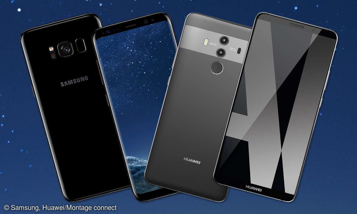 Galaxy S8+ vs Mate 10 Pro