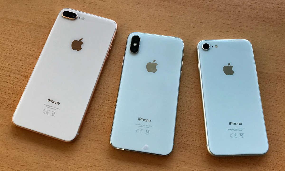 iPhone X und iPhone 8 (Plus)