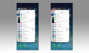 iPhone X App beenden