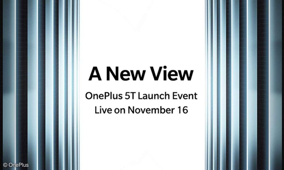OnePlus 5T Release Event Verkaufsstart