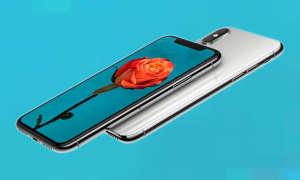 iPhone X Kamera mit Display
