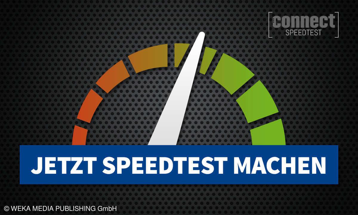 connect Speedtest - DSL-Breitband-Test