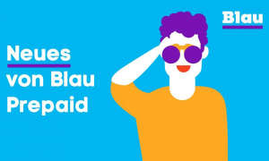 Mobilfunkanbieter Blau