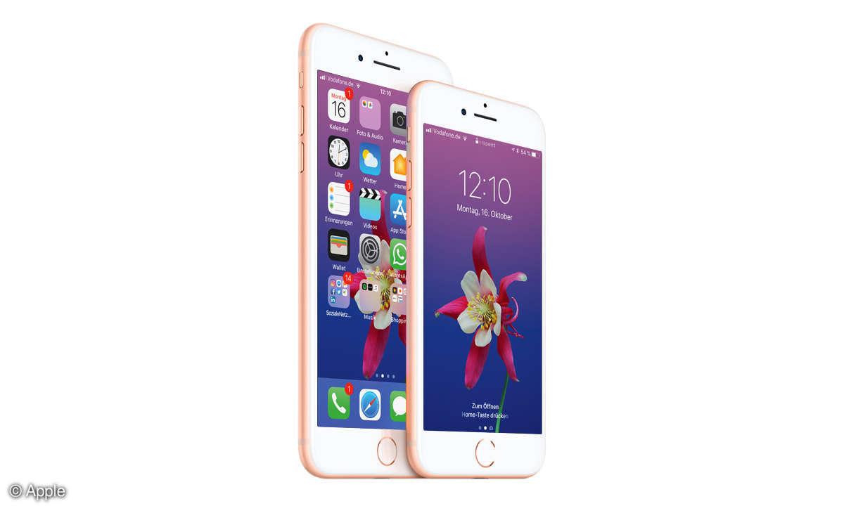 Apple iPhone 8 und 8 Plus