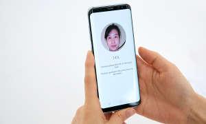 Samsung Galaxy S9 3D Gesichtserkennung S8