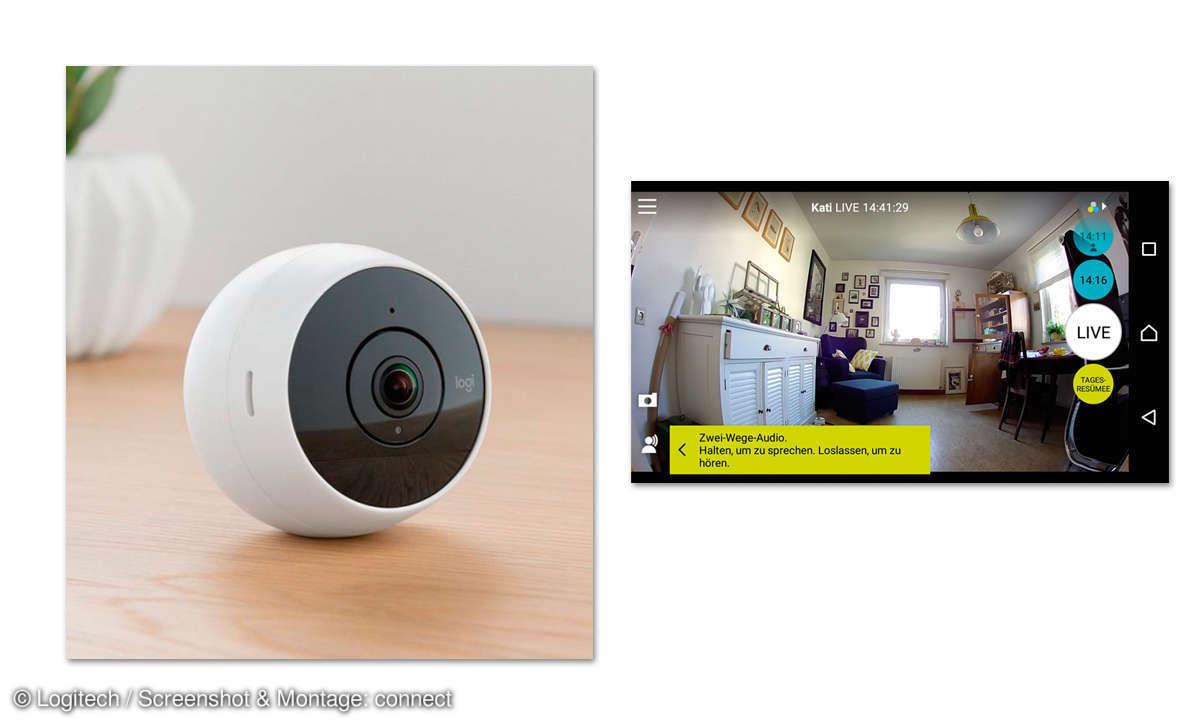 Logitech Circle 2 - IP-Überwachungskamera