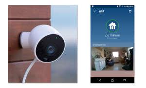 Nest Cam Outdoor - IP-Überwachungskamera