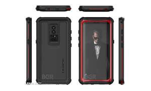Samsung Galaxy S9 plus Renderbild Smartphone Hülle