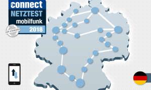 connect Mobilfunk-Netztest 2018 Deutschland Daten