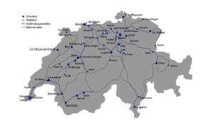 connect Mobilfunk-Netztest 2018 - Route Schweiz