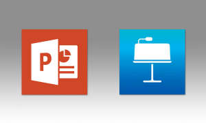 Microsoft Powerpoint vs. Keynote