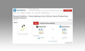 Sicher Shoppen - Bewertung ReviewMeta