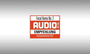 Testsiegel audio Focal Kanta No. 2 1/2018