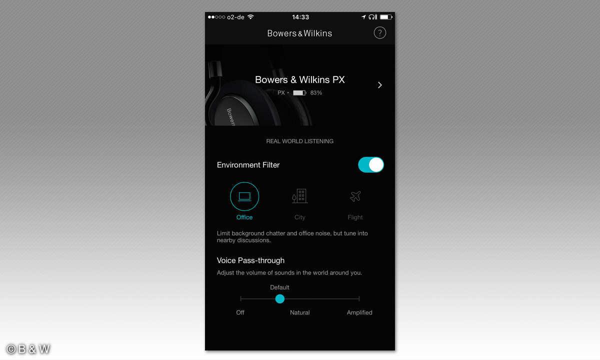B & W PX App