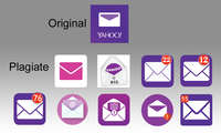Yahoo Logo - Original und Fakes
