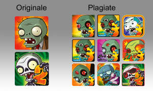 Plants vs Zombies Logos - Original und Fakes