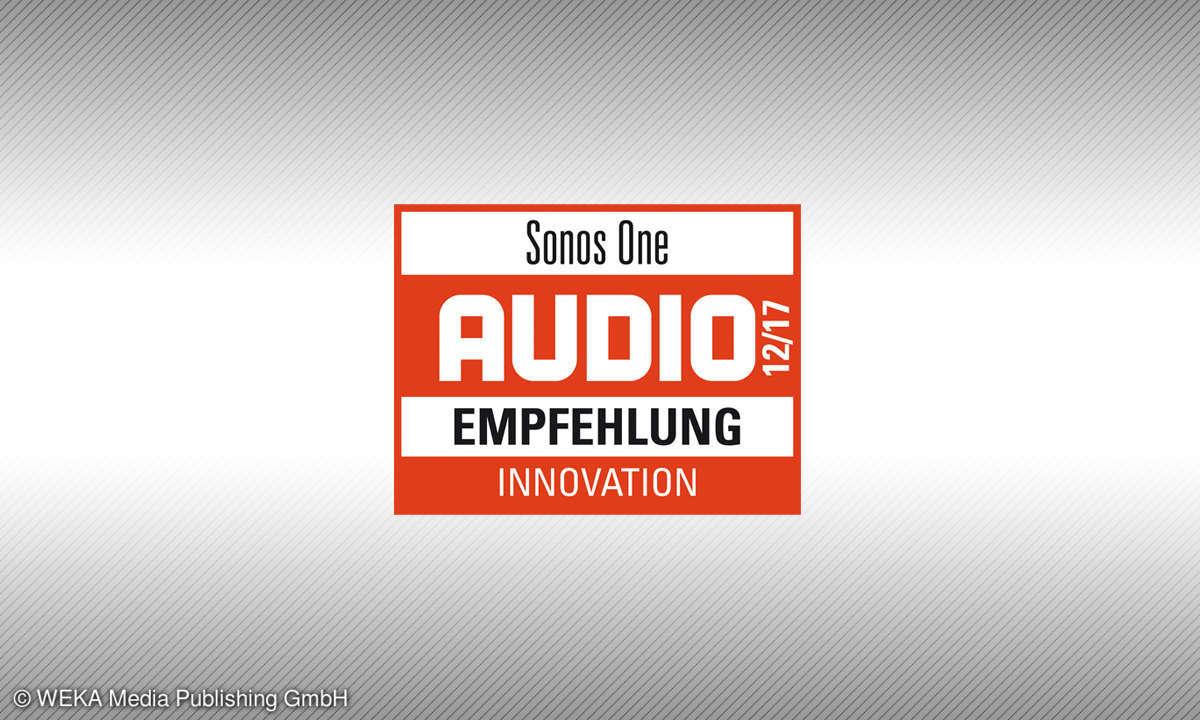 Testsiegel Audio 12-17 Sonos One Empfehlung