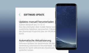 Samsung Galaxy S8 Update