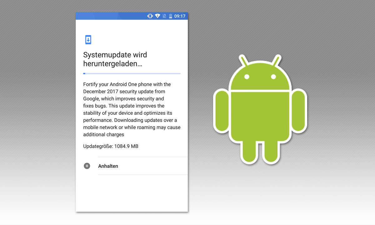 Google Android Update