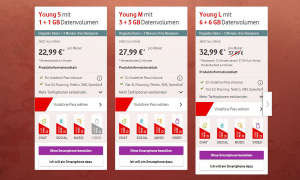 Vodafone Young-Tarife