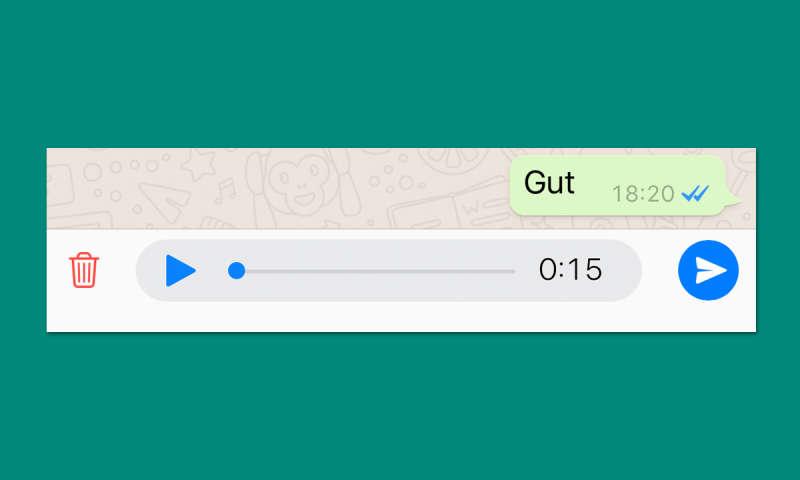 whatsapp sprachnachrichten nicht automatisch