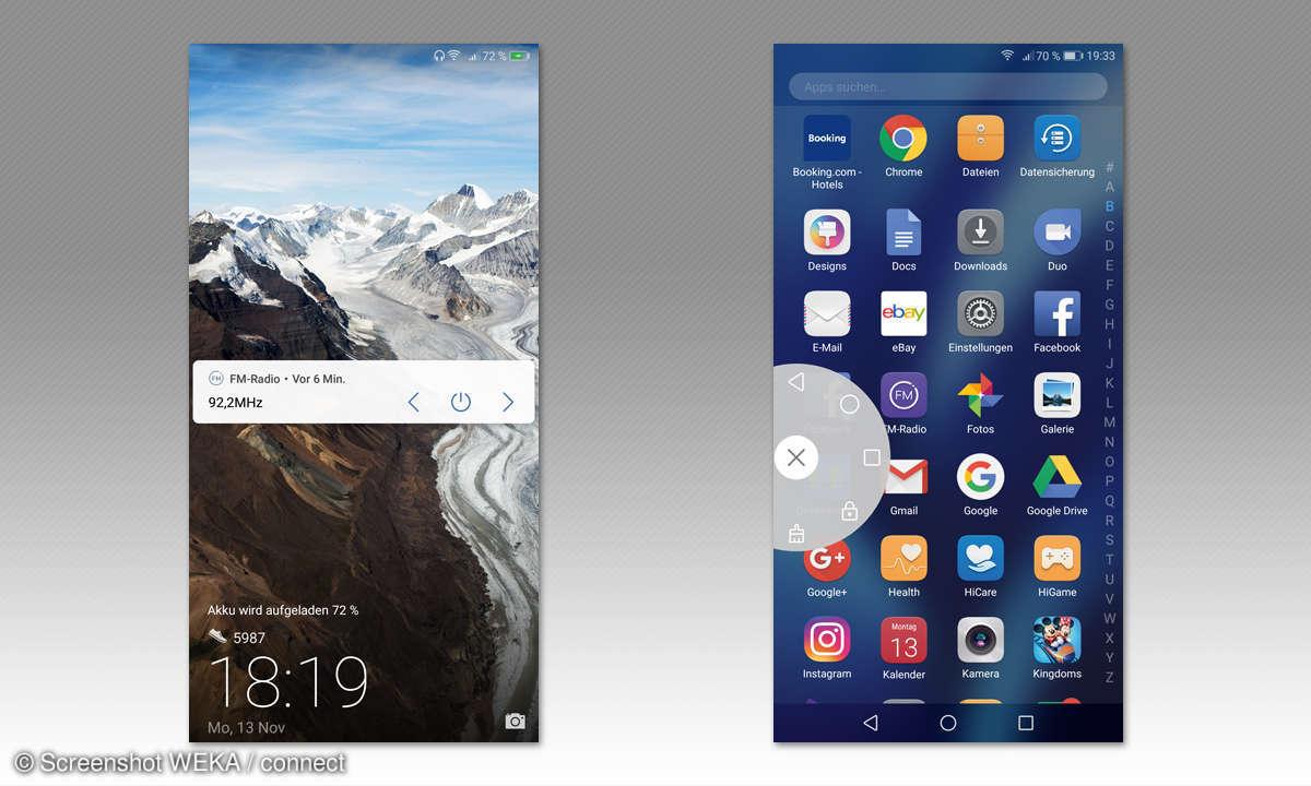 Huawei Mate 10 lite Screenshots