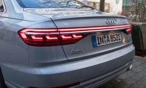 Audi A8 Rückansicht Lichter