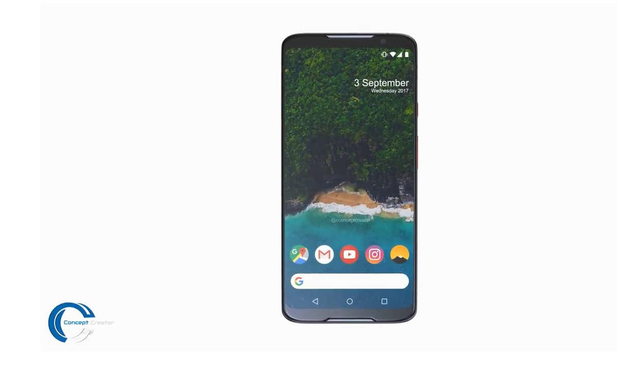 Google Pixel 3 Konzeptrendering