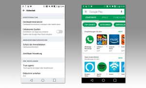 Smartphone Sicherheit: Apps aus sicherer Quelle
