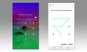 Smartphone Sicherheit: Bildschirm sperren