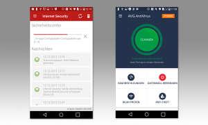 Smartphone Sicherheit: GData Internet Security & AVG Antivirus KOSTENLOS