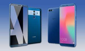 Huawei Mate 10 Pro vs Honor View 10 Vergleich