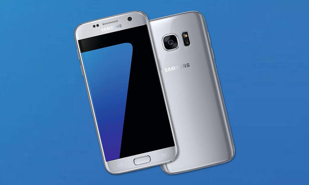 Galaxy S7 Silber