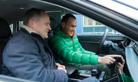 Audi A8 Dirk Waasen und Michael Crusius