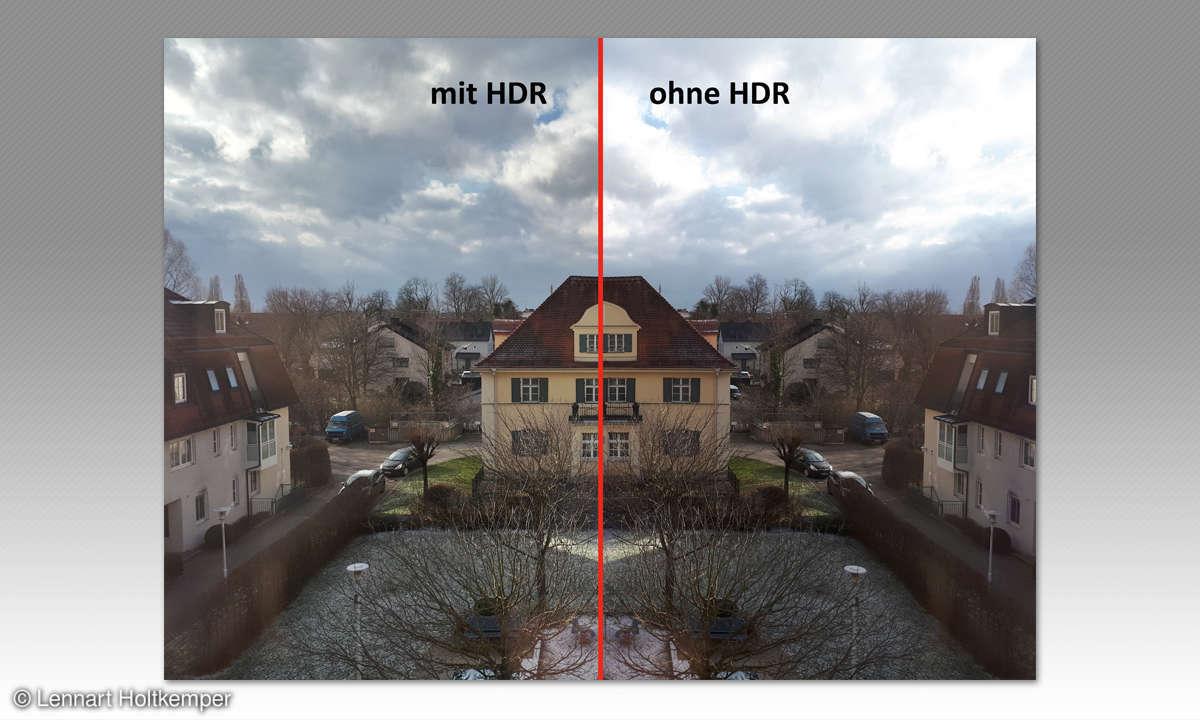 Bessere Smartphone Fotos: HDR vs. non HDR