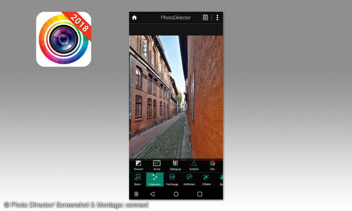 Bessere Smartphone Fotos: App zur Bildbearbeitung