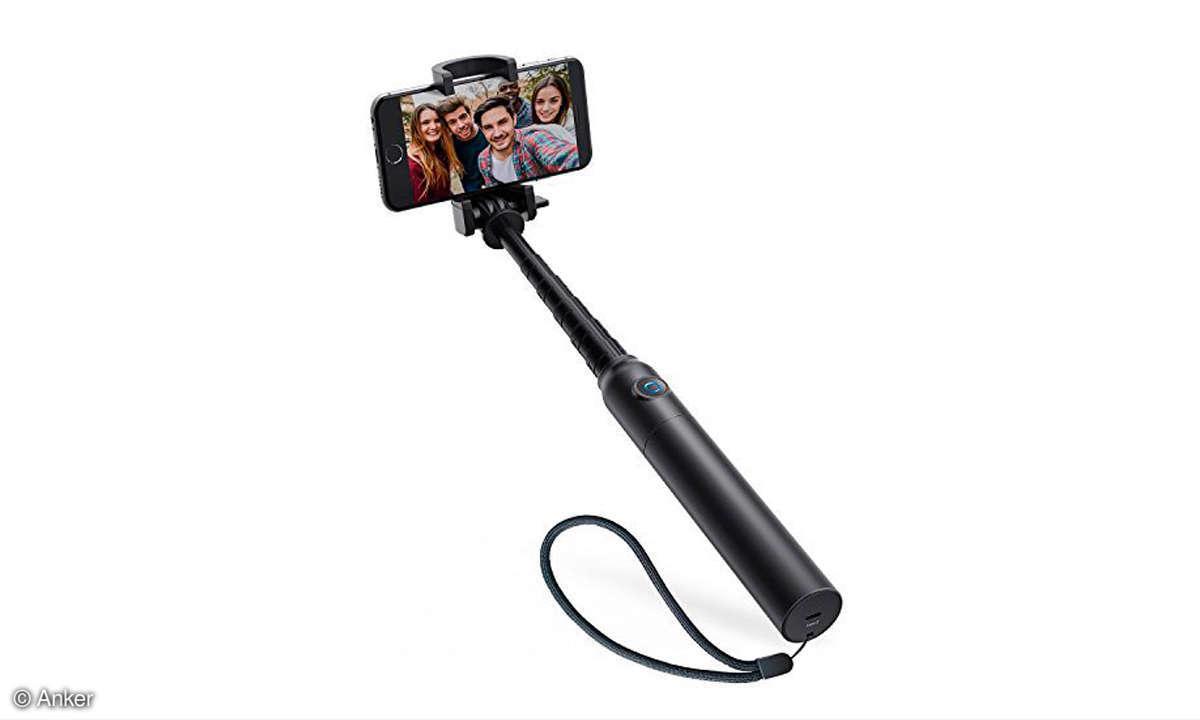 Bessere Smartphone Fotos: Selfie-Stick