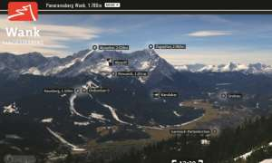 Screenshot Webcam Zugspitze App