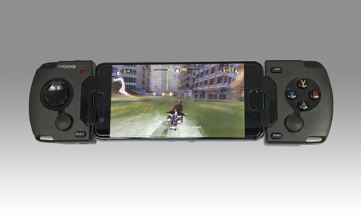 Gamepad fürs Smartphone: i-Rocks G01