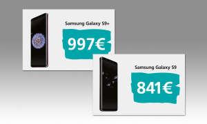 Samsung Galaxy S9 und S9+ Preise