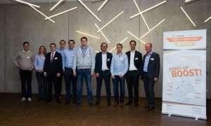 Die Jurymitglieder des Auftakt-Boostivals im Oktober 2017 in Dortmund