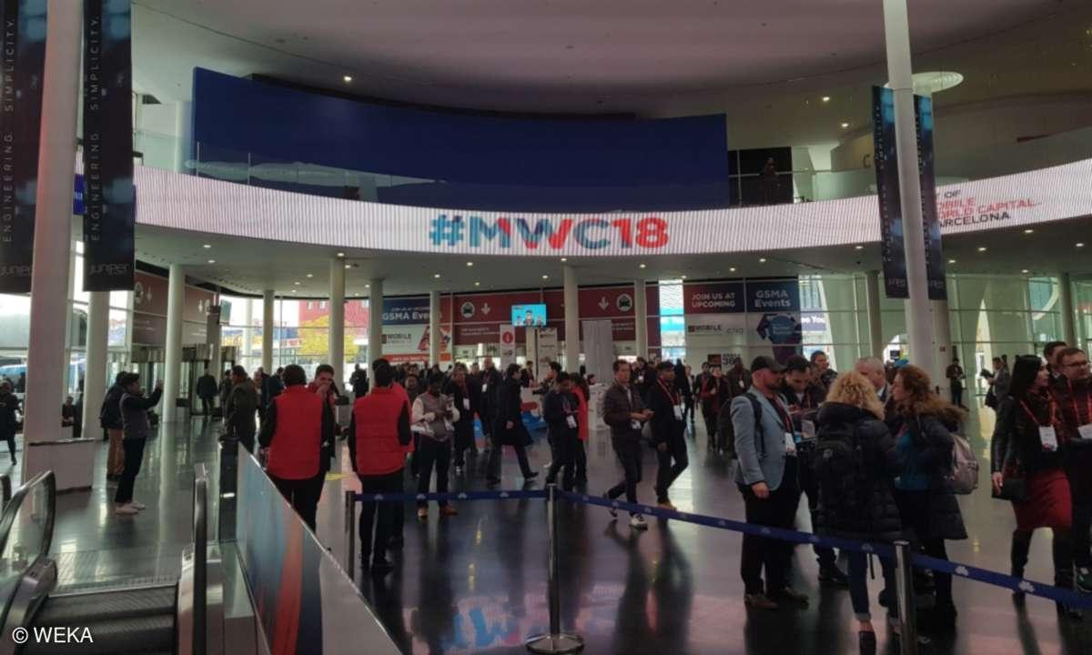 Mobile World Congress 2018 - Eingang