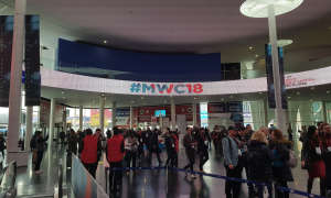 MWC 2018 in Barcelona