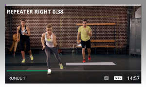Fitness-App: Gymondo Video
