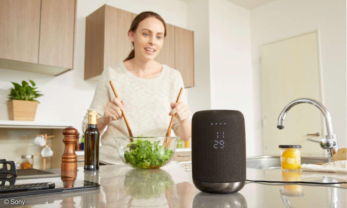 Smarte Lautsprecher: Sony LF-S50G