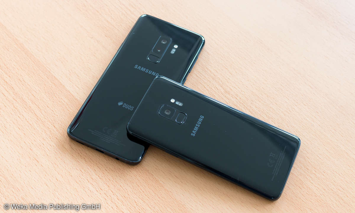 Samsung Galaxy S9 & S9 Plus Rückseite