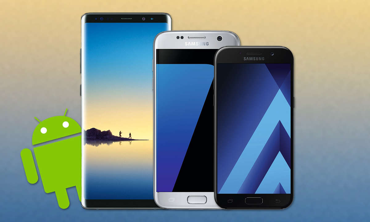 Android Update Samsung Phones