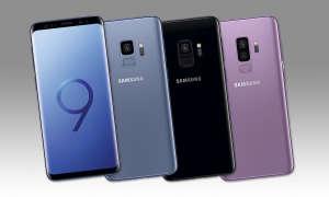 Galaxy S9 Blau, Schwarz, Lila